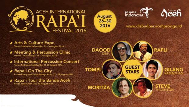 Pembukaan Aceh International Rapa'i Festival