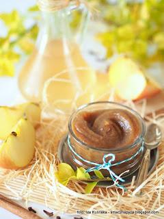 mus jablkowy, przyprawy korzenne, dzem jablkowy, przecier jablkowy, do smarowania, do chleba, jablka, jablko grojeckie, przetwory