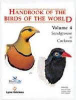 Handbook of the Birds of the World volume 4
