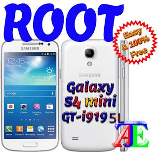 Root galaxy s4 mini cf-auto-root