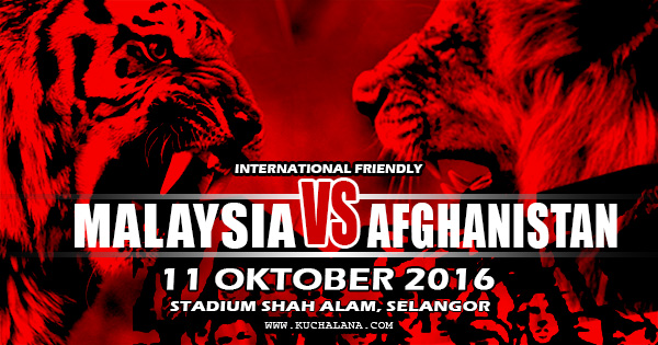Friendly : Malaysia Vs Afghanistan