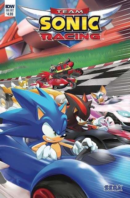 Team Sonic Racing Comic Book
