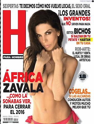 Africa Zavala - H para Hombres 2016 Diciembre (76 Fotos HQ)