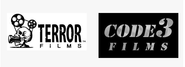 Terror Films And Code 3 Logos Image