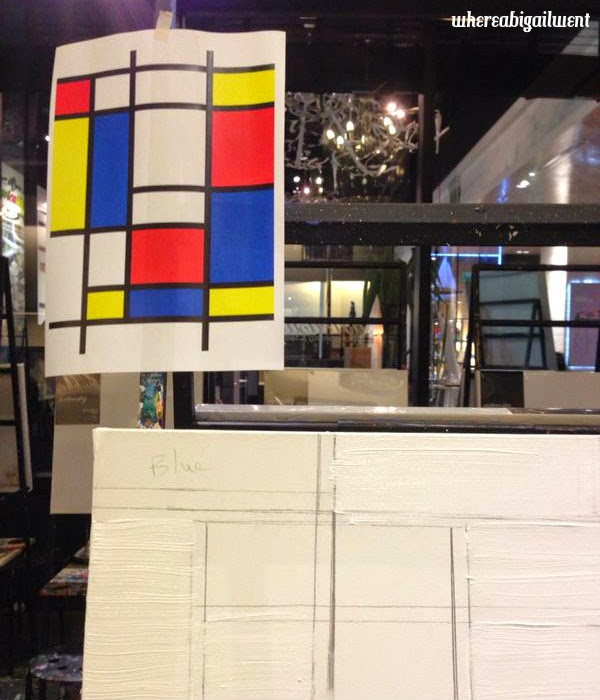 I am a terrible artist, sorry Mondrian