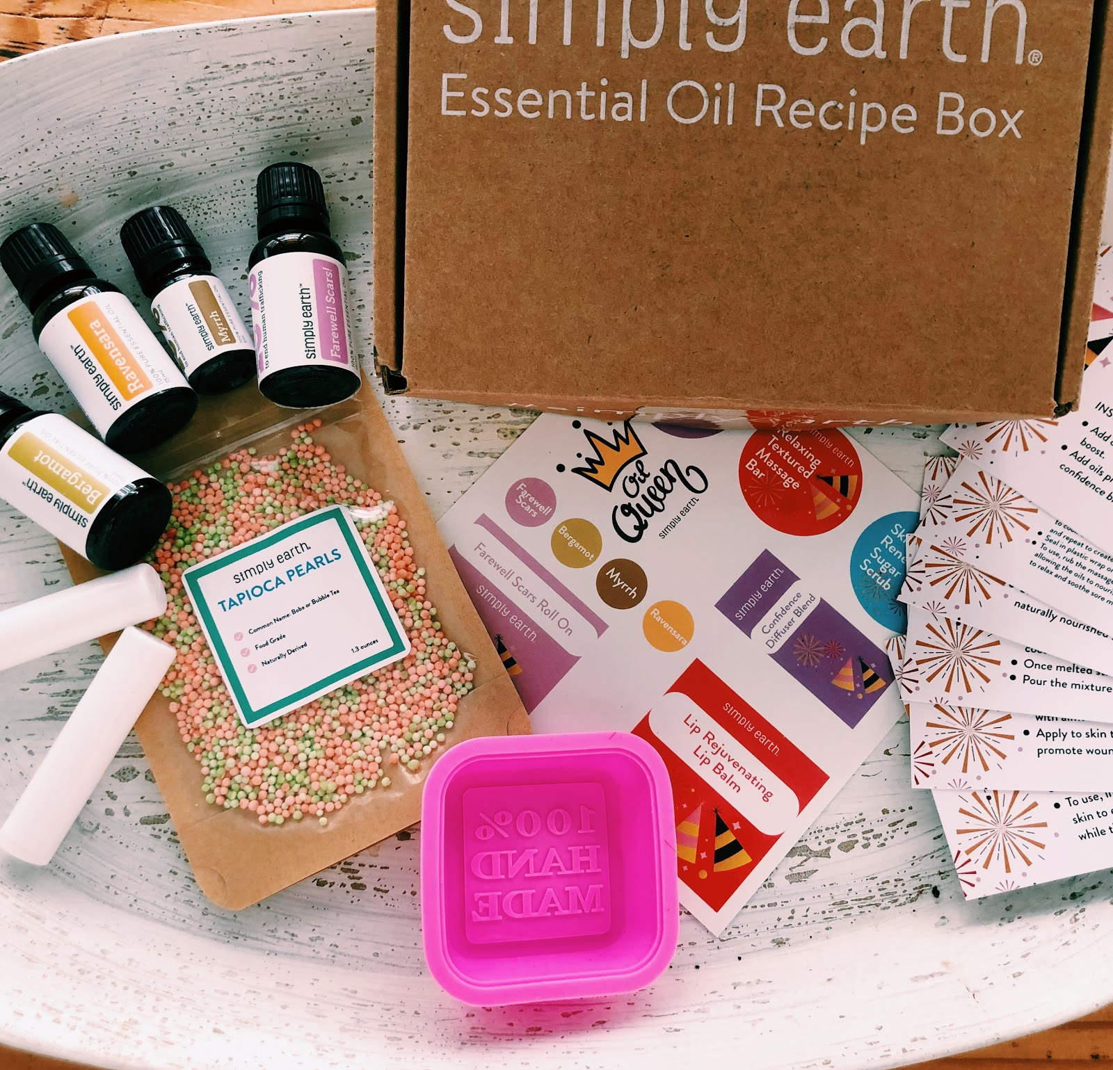 Simply Earth's January Box: Nourishing Skincare With