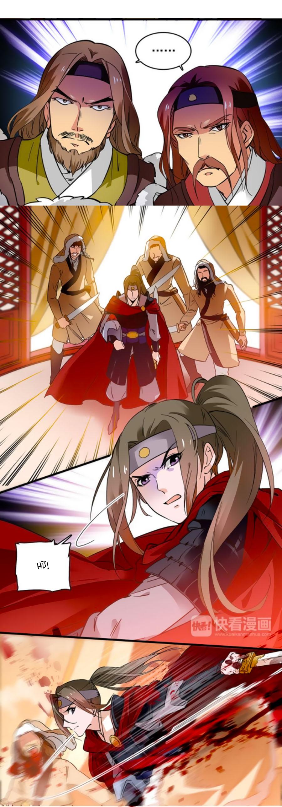 Hoàng Thượng! Hãy Sủng Ái Ta Đi! Chap 38