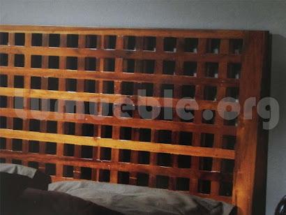 cama madera teca 4189/4