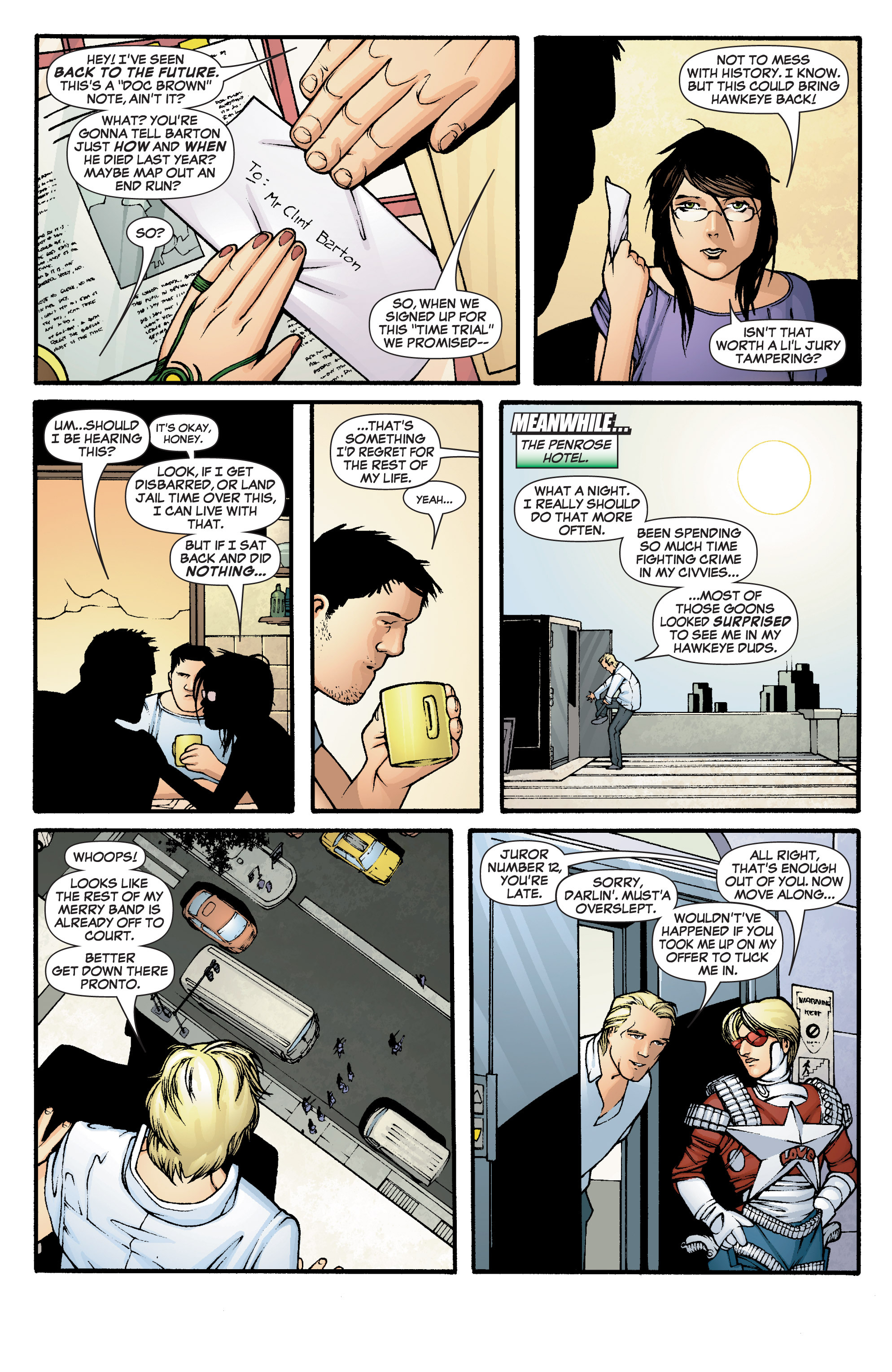 Read online She-Hulk (2005) comic -  Issue #2 - 7