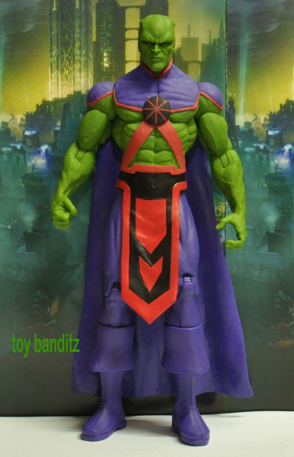 New 52 Martian Manhunter Figure