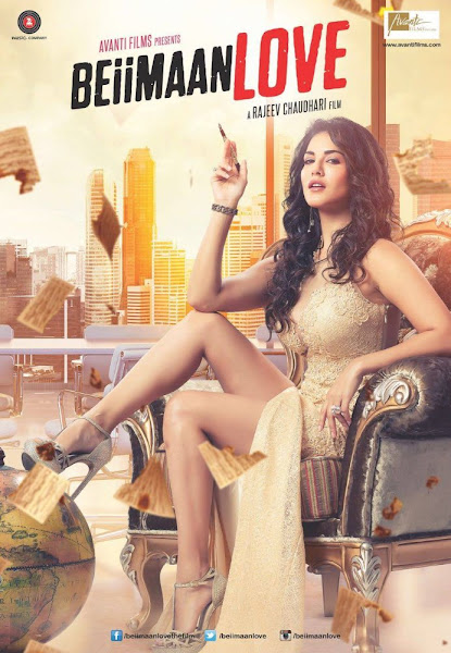Poster Of Beiimaan Love 2016 480p Hindi DVDScr Full Movie Download