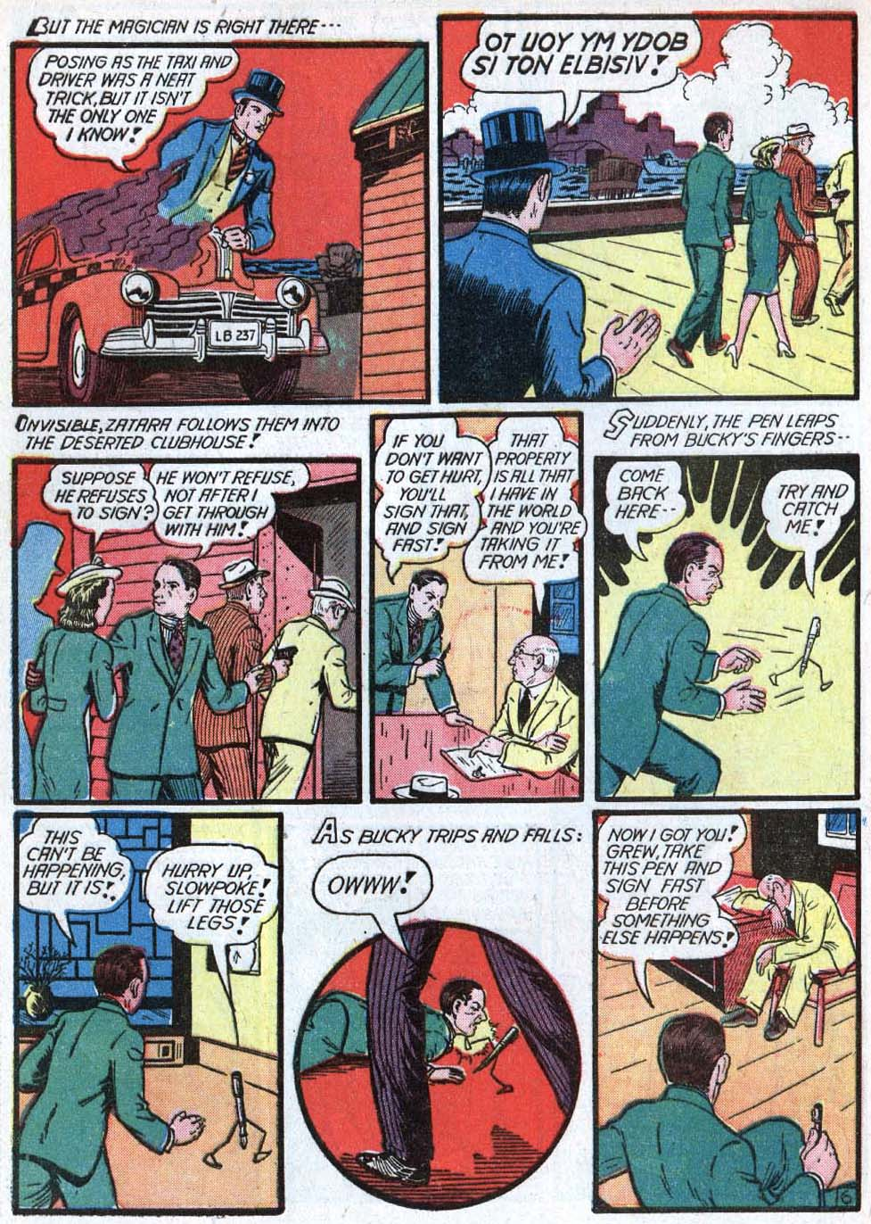 Read online Action Comics (1938) comic -  Issue #40 - 62