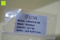 Info: DeloveOhrhänger mit 2 fach gedrehten Spiralen Elementen, 925 Sterling Silber pl., Ohrringe, Damen Schmuck, Geschenk
