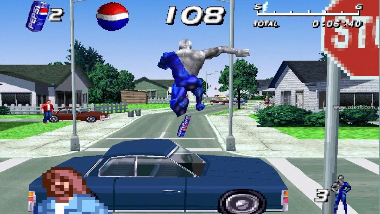 Retro Games Clasics - Free download: Pepsi Man (PS1)