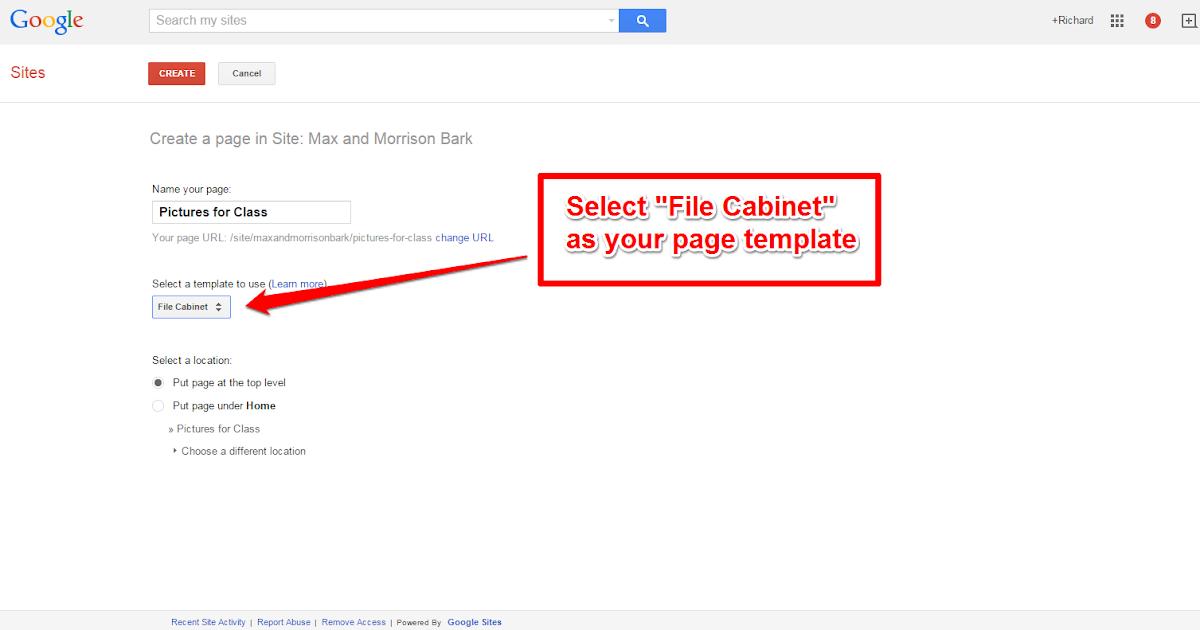 free technology for teachers use google sites file. Black Bedroom Furniture Sets. Home Design Ideas