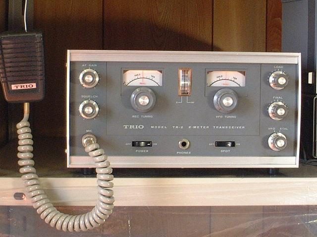 Kenwood TRiO TR-2E VHF Transceiver