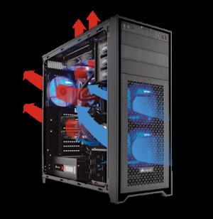 Bagaimana Mengatur Aliran Udara (Air Flow) dalam Casing PC Komputer