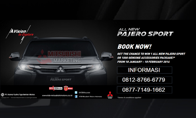 MITSUBISHI BINTARO ALL NEW PAJERO SPORT