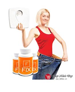 Giá bán thuốc giảm cân FIX chính hãng