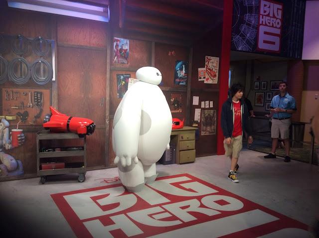 Big Hero 6 Meet and Greet Epcot Baymax and Hiro