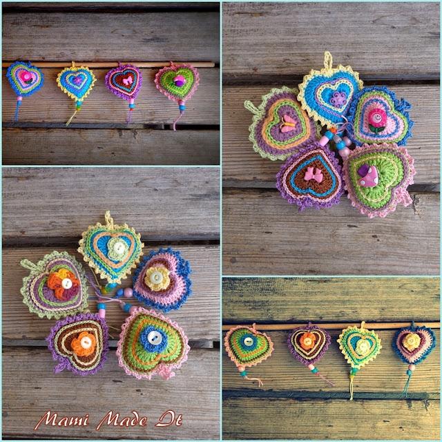 Häkelherzen - Crochet Hearts
