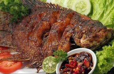 Ikan Panggang Padang Bumbu Kecap