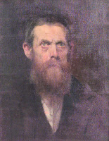 De Blaas's self-portrait