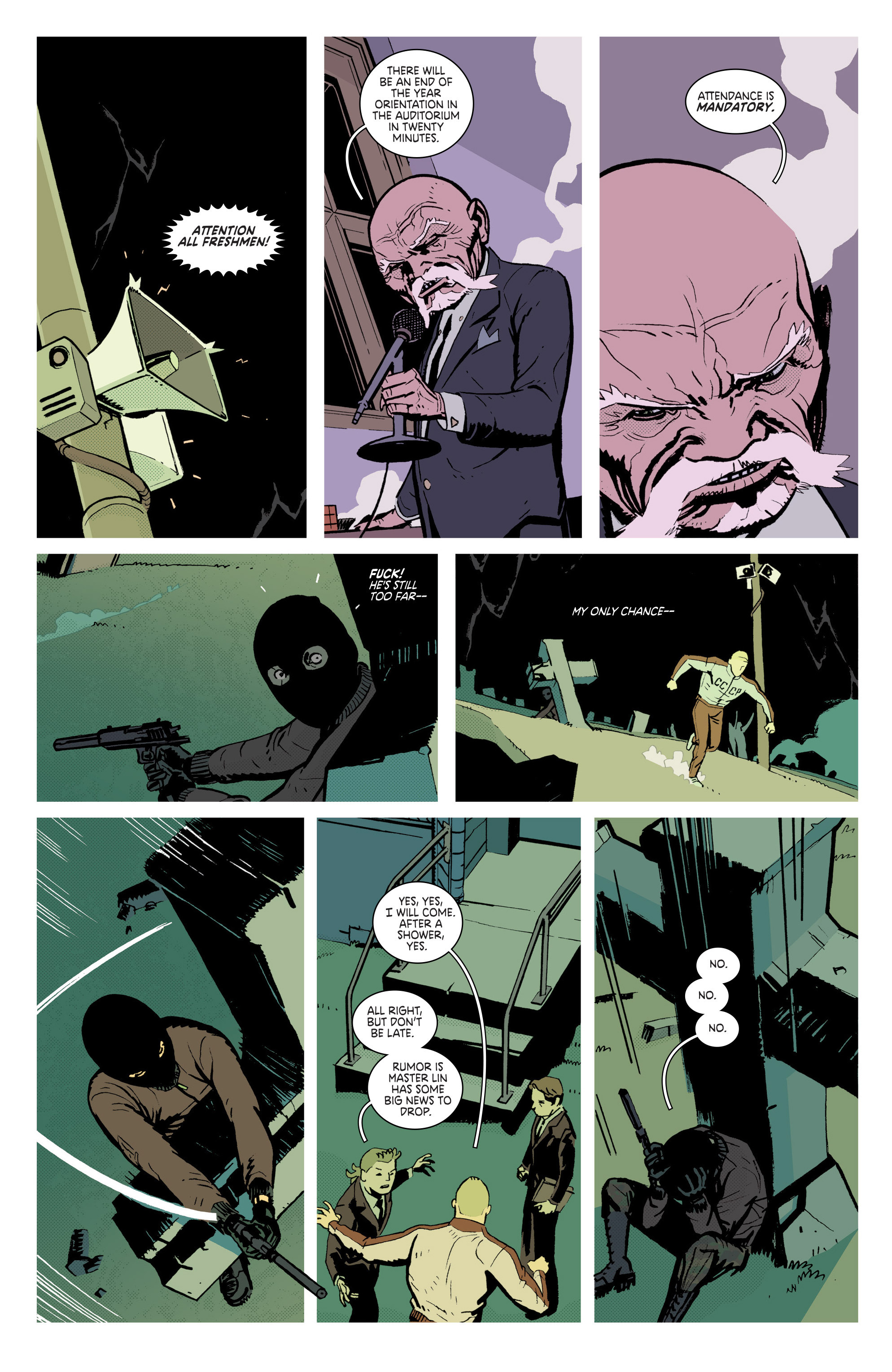 Read online Deadly Class comic -  Issue # _TPB 3 - 102