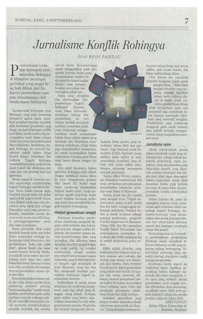 Jurnalisme Konflik Rohingya
