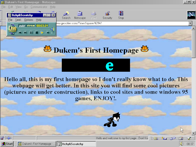 ... do GeoCities