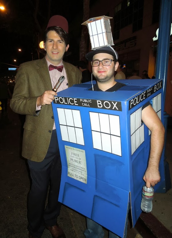 11th Doctor Who TARDIS costumes West Hollywood Halloween