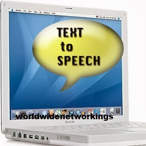 How to convert text to speech