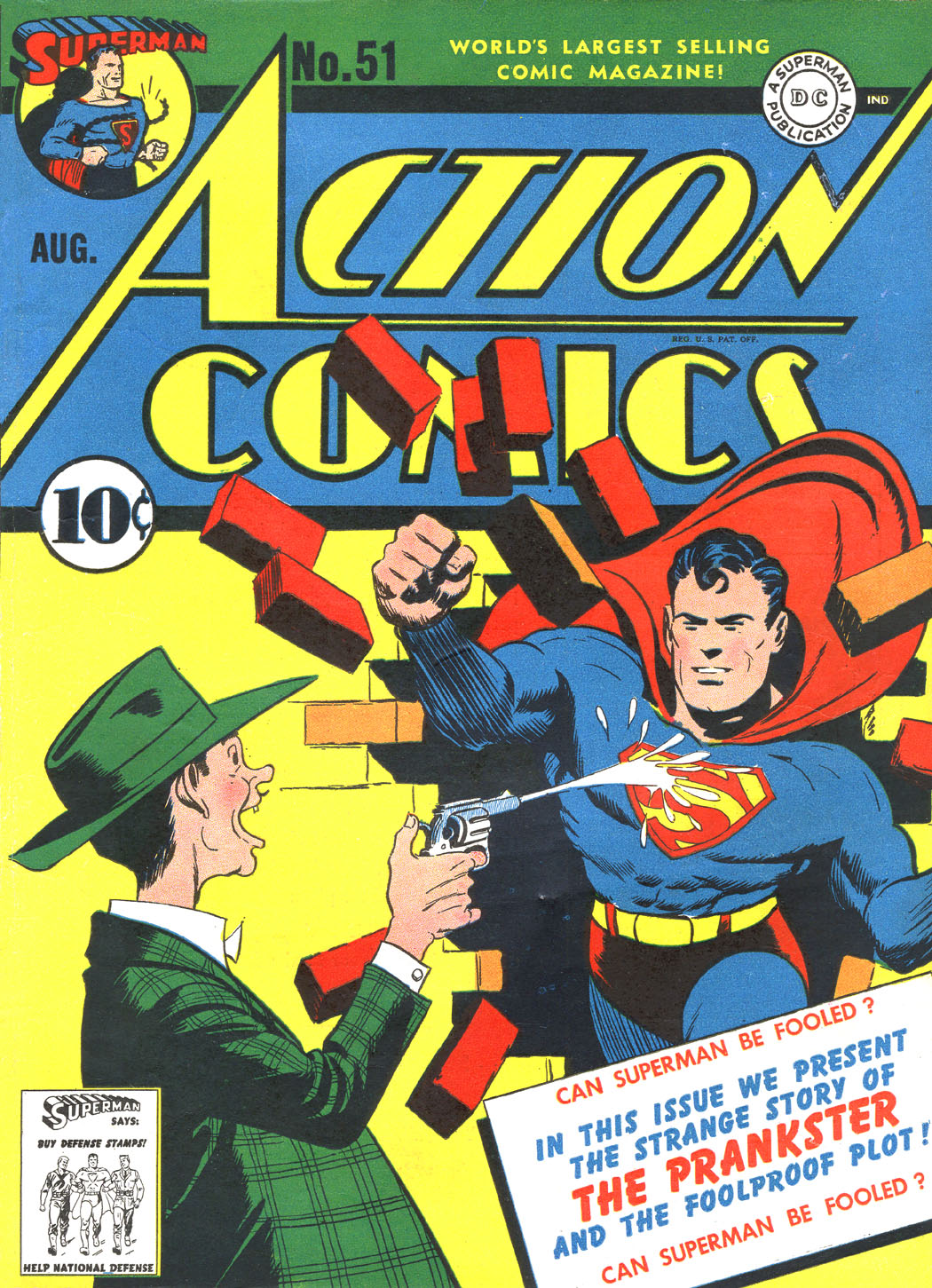 Read online Action Comics (1938) comic -  Issue #51 - 1