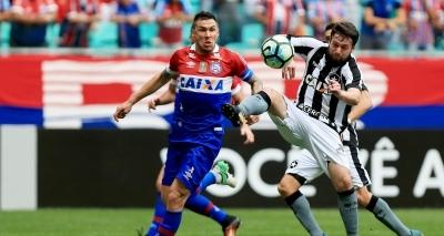 Bahia volta a jogar mal e perde por 2 a 1 para o Botafogo na Fonte Nova