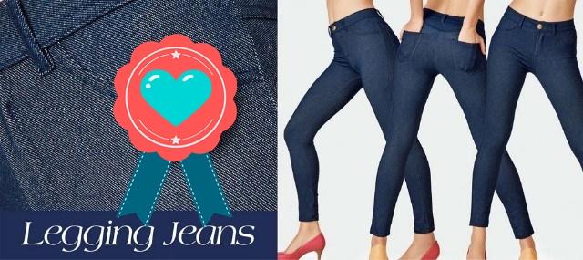 4e65a9621 Legging Jeans DeMillus - Charme e Glamour