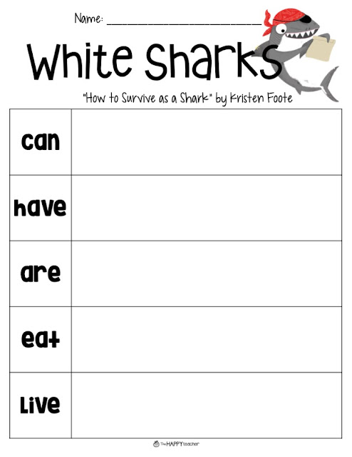 Nonfiction graphic organizer