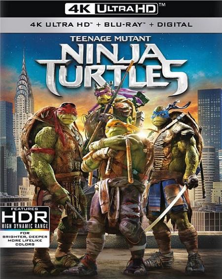 Teenage Mutant Ninja Turtles 4K (Tortugas Ninja 4K) (2014) 2160p 4K UltraHD HDR BluRay REMUX 48GB mkv Dual Audio Dolby TrueHD ATMOS 7.1 ch