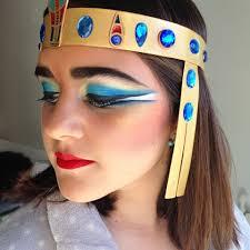 maquillaje de egipcia para disfraz