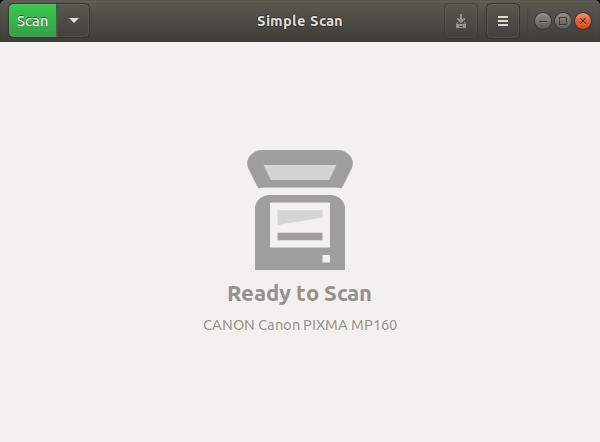 Ubuntu Buzz !: Scanning on Ubuntu 18 04 and Trisquel 8 0