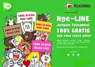 Cara nge-LINE gratis pulsa nol 0 di Android