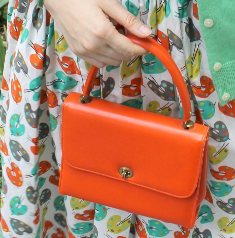 A Vintage Nerd, Vintage Mom, Retro Lifestyle Blog, Bernie Dexter Art Dress, New York Fashion Blogger