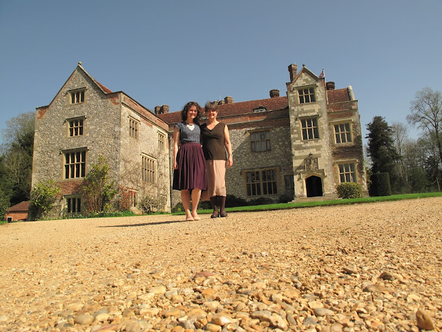 Lingering one last time at Chawton House...