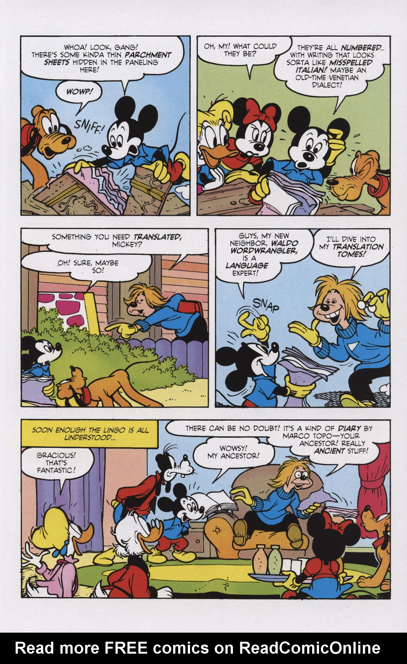 Read online Mickey Mouse (2011) comic -  Issue #309 - 11