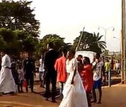 groom abandon bride wedding day