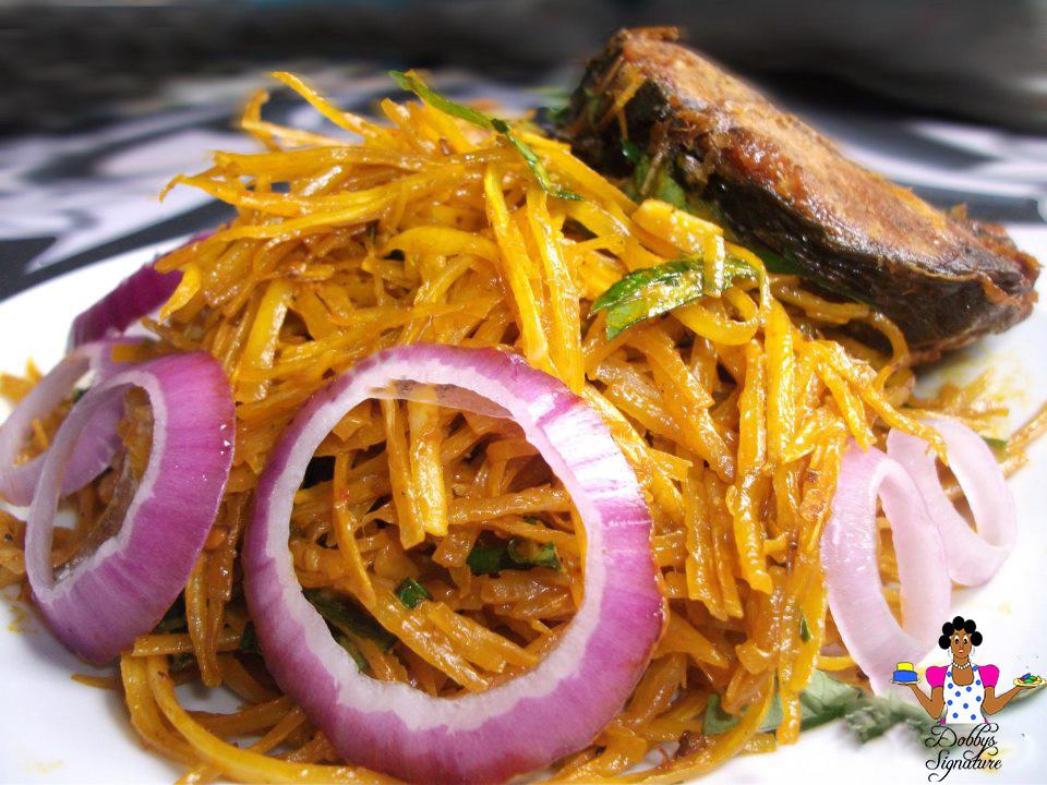 Dobbys signature nigerian food blog i nigerian food recipes i abacha ncha african salad forumfinder Image collections