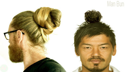 Man-bun,Man-bun hairstyle
