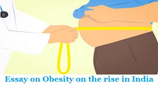 Essay on Obesity on the rise in India