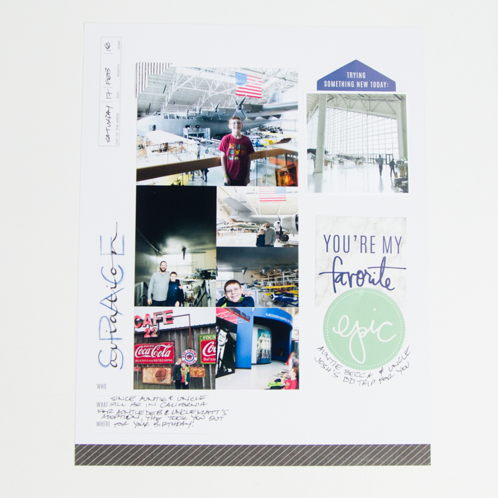 What is the definition of scrapbooking? by @createoften for @heidiswapp