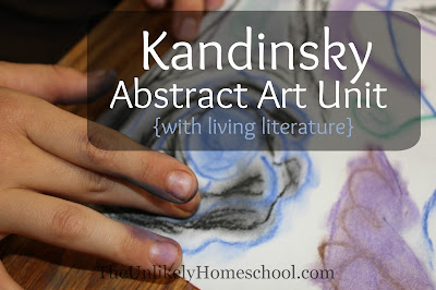 Kandinsky Abstract Art Unit {with living literature}