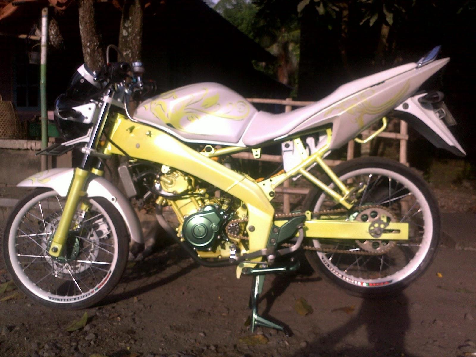 Modifikasi 2012 Vixion Lombok Timur Selagik